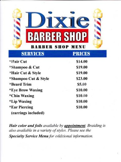 dixie_barber_shop_vero_beach_barber_shop_menu