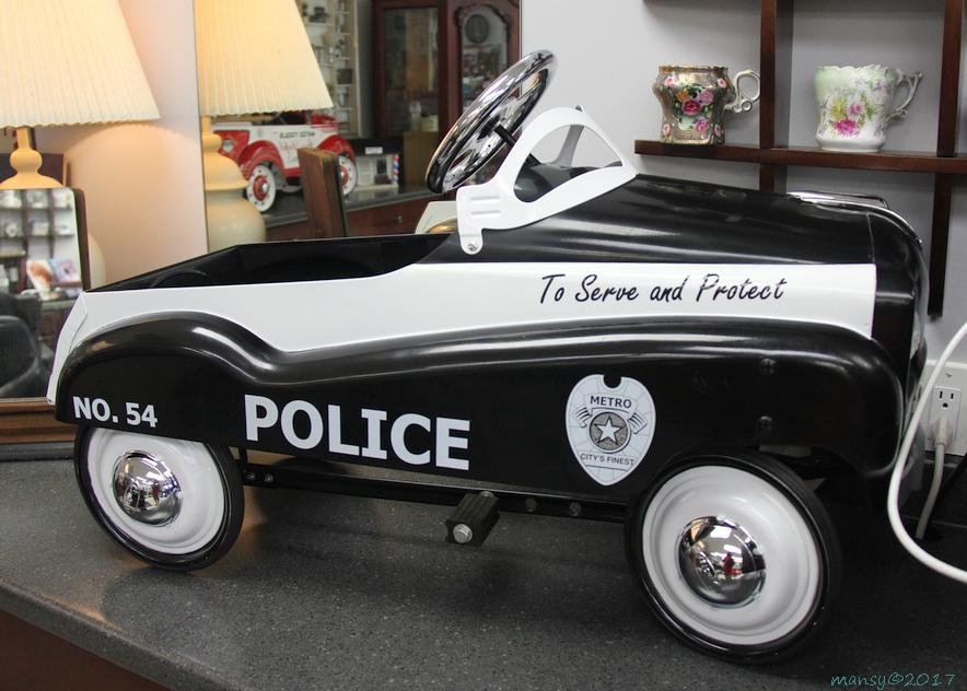 Dixie Barber Shop Car 54